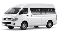 Toyota Hiace or Commuter